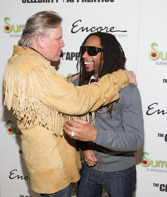 Gary Busey with Lil Jon at Surrender Nightclub