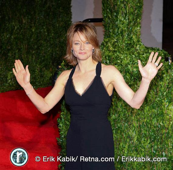 Jodie Foster at 2010 Vanity Fair Oscar Party