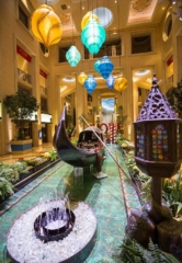 The Venetian Las Vegas Celebrates the Spirit of Venice with Historic Gondola Display