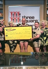 """Marriage Can Be Murder"" at the D Las Vegas Participates in Restaurant Week; Donates $1,500 to Three Square"