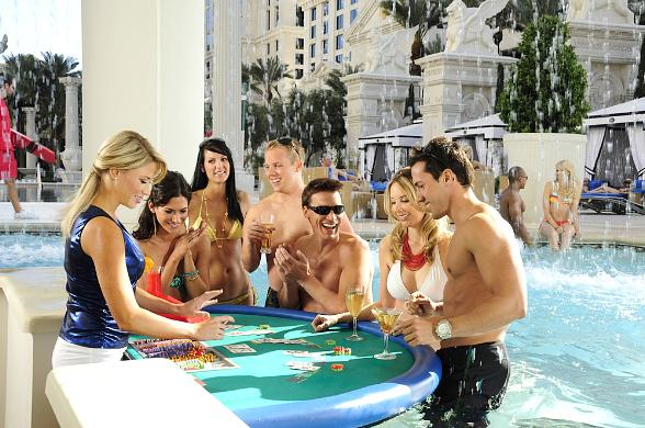 "Caesars Palace to Debut Eight Stunning New Pool Experiences in ""Garden of The Gods"" March 19"