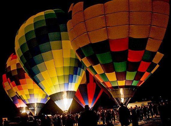 Sixth Annual Family-Friendly Hot Air Balloon Festival Jan. 20–22