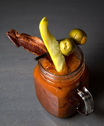 Bottomless Bloody Mary's with your choice of toppings