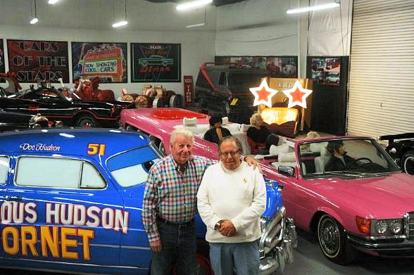 Hollywood Cars Museum by Jay Ohrberg at Hot Rod City, Las Vegas, Showcases Classic Film and TV Vehicles