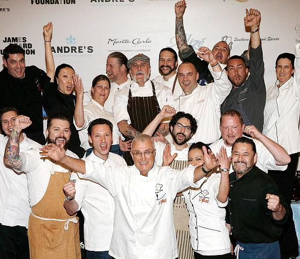 Las Vegas' First Celebrated Chef André Rochat Commemorates 35 Years with Past, Present Protégés, Friends