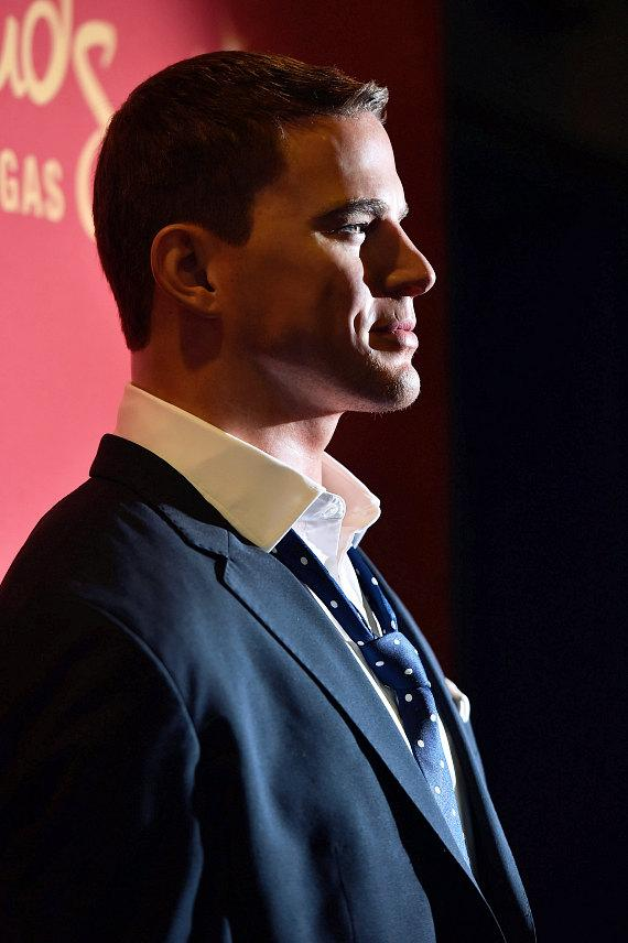Madame Tussauds Las Vegas' Channing Tatum wax figure