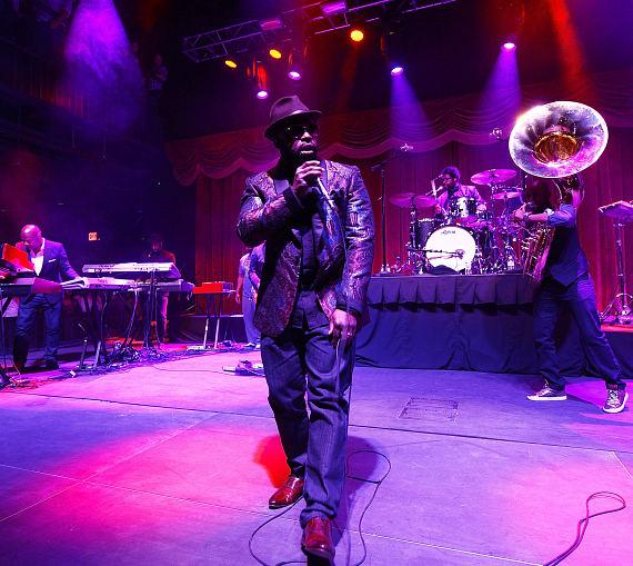 The Roots perform at Brooklyn Bowl at The LINQ in Las Vegas