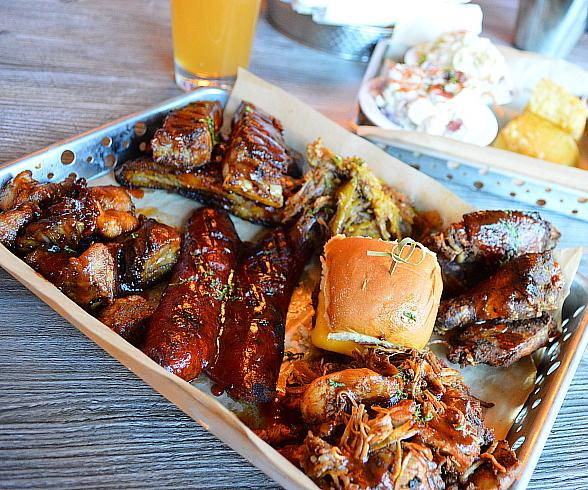 Smoked Burgers & BBQ's All-You-Can-Eat Special at The Forum Shops at Caesars Palace Las Vegas