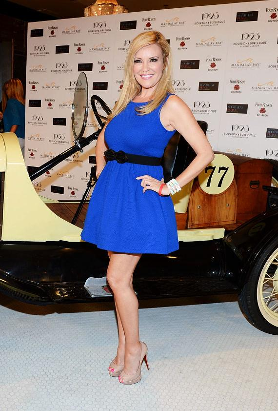 Bridget Marquardt arrives at the grand opening of 1923 Bourbon & Burlesque at Mandalay Bay
