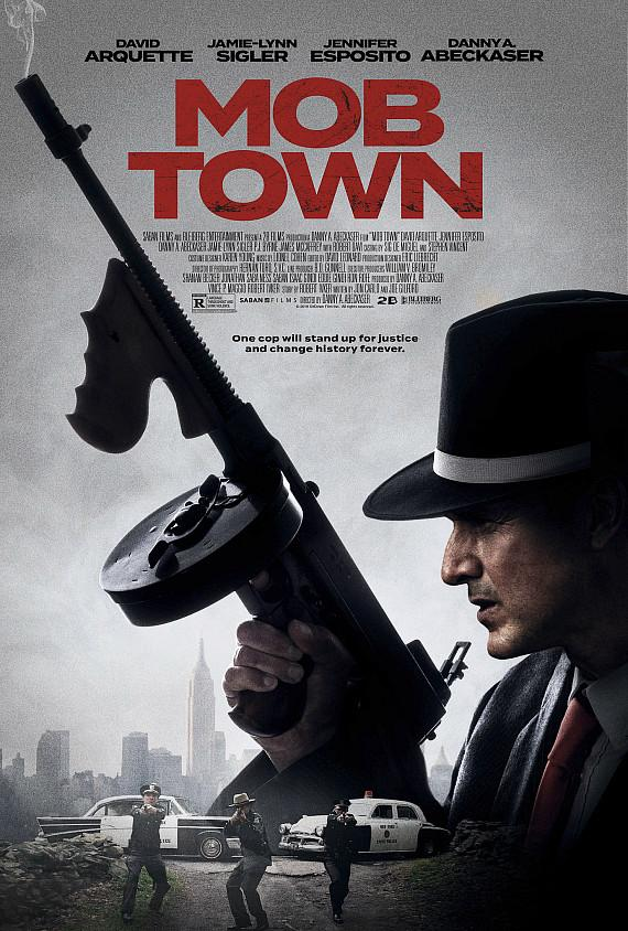 """""""Mob Town movie poster"""