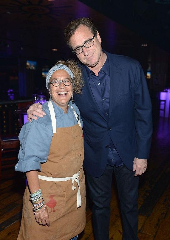 Bob Saget and Susan Feniger during the Scleroderma research fund raiser at House of Blues Las Vegas