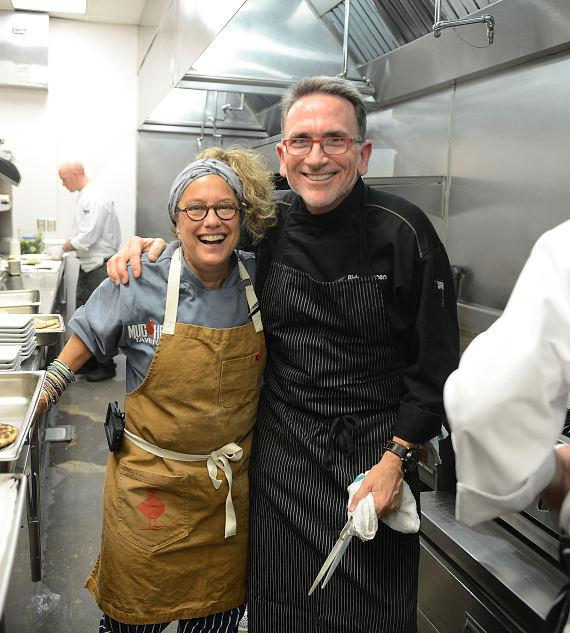 Chefs Susan Feniger and Rick Moonen