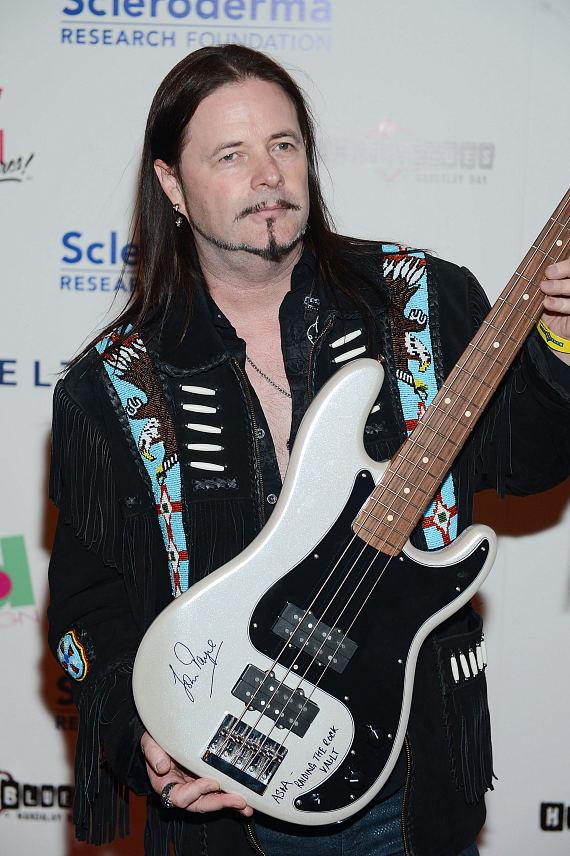 John Payne arrives at the Scleroderma research fund raiser at House of Blues Las Vegas on June 5, 2014