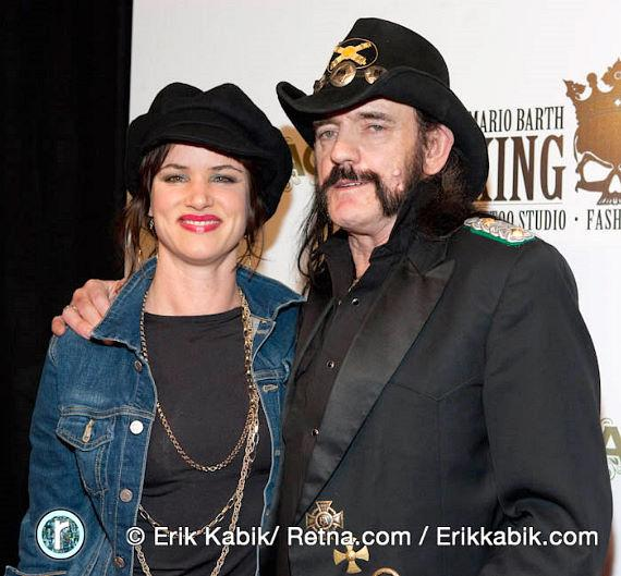 Juliette Lewis and Lemmy Kilmister