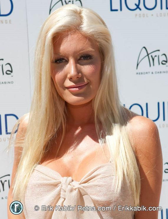 Heidi Montag at LIQUID Pool at Aria Resort