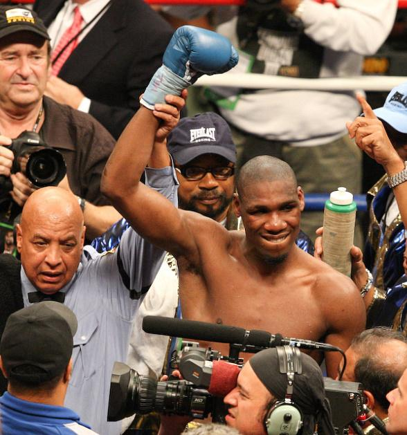 Paul Willliams after unanimous decision over Winky Wright