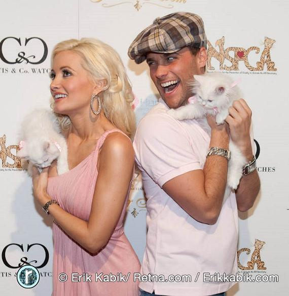 Peepshow stars Holly Madison and Josh Strickland