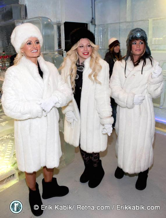 Holly Madison, Joyce Bonelli and Laura Croft