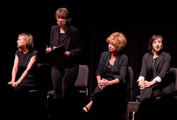 Women Fully Clothed perform at Troesh Studio Theater at The Smith Center For Performing Arts