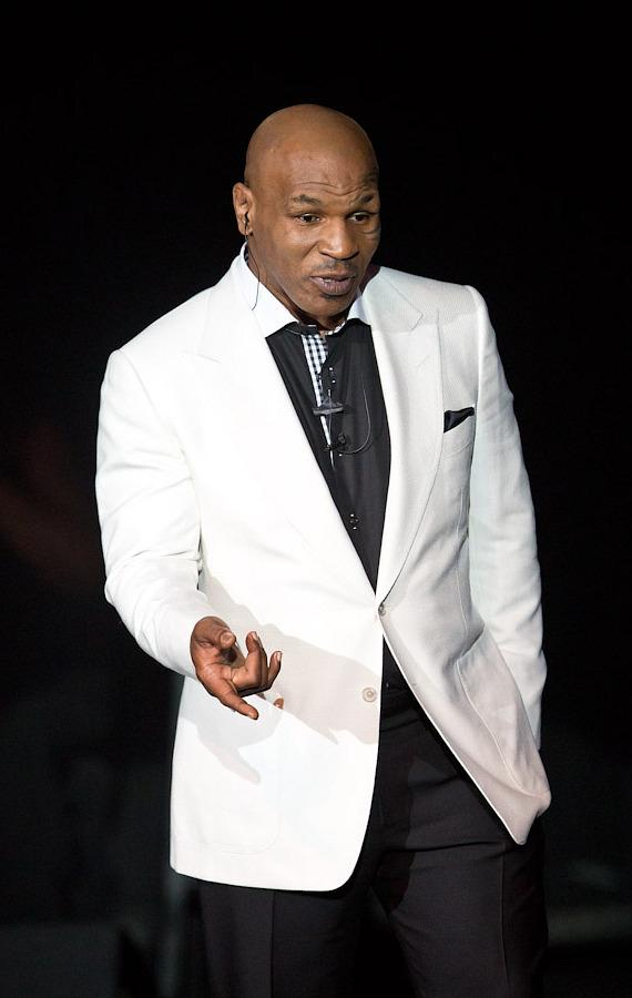 """Mike Tyson performs his """"Undisputed Truth"""" show in Las Vegas"""