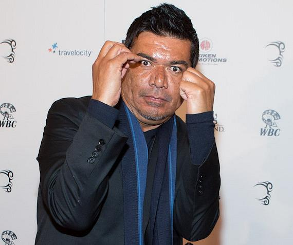 Talk show host and comedian George Lopez