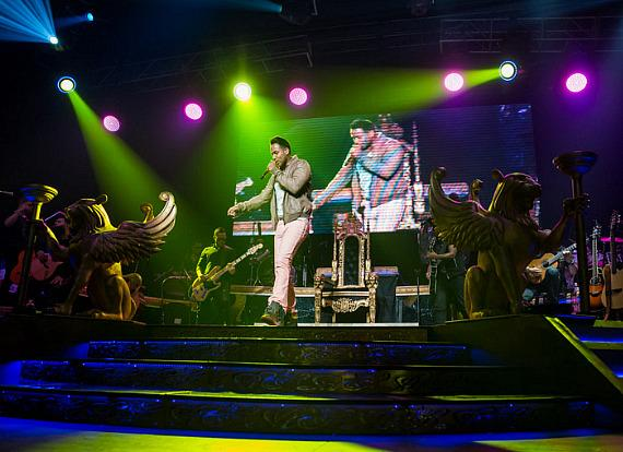 Romeo Santos performs at The Joint in Las Vegas