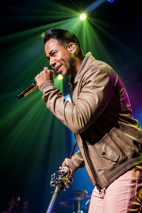 Latin Super Star Romeo Santos Performs at The Joint in Las Vegas
