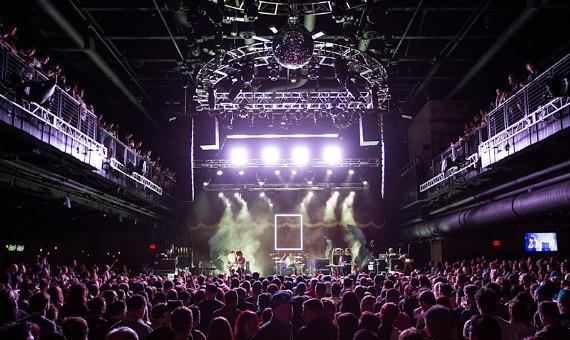 The 1975 perform at Brooklyn Bowl Las Vegas at The LINQ