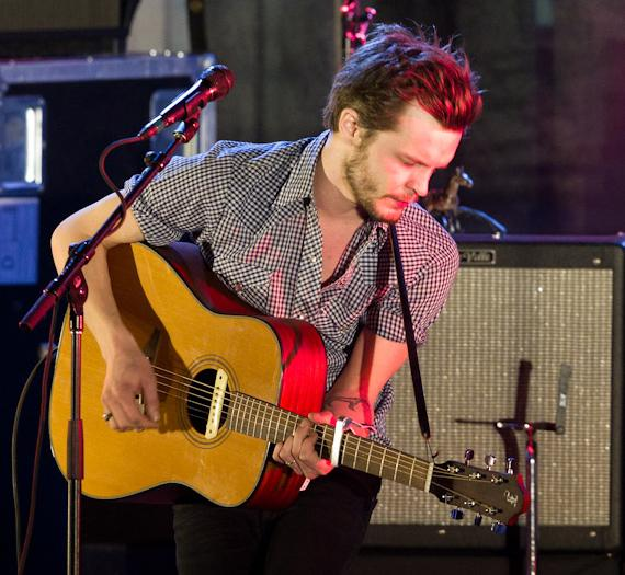 The Tallest Man On Earth performs at The Boulevard Pool at The Cosmopolitan Of Las Vegas