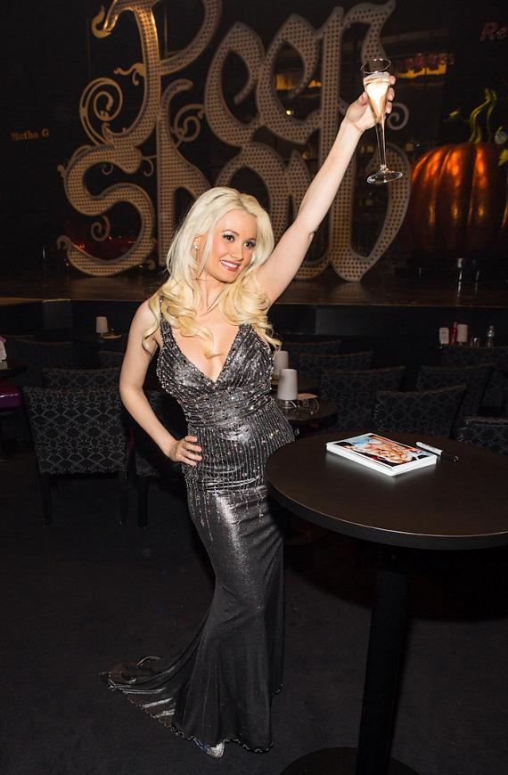 Holly Madison at PEEPSHOW's Three Year Anniversary