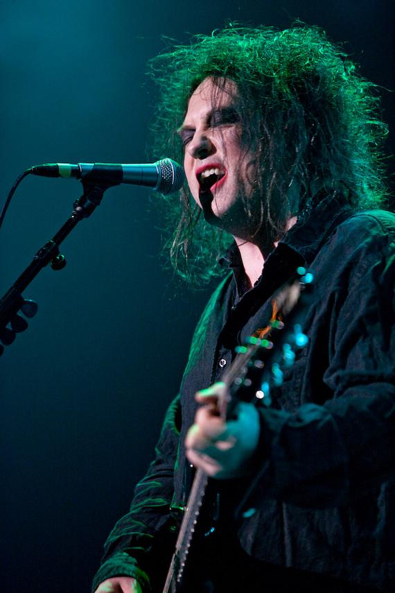 The Cure performs at The Pearl at The Palms
