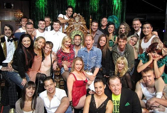 ABSINTHE cast with Dancing with the Stars: Live cast