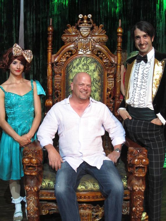 Penny Pibbets, Pawn Stars' Rick Harrison and The Gazillionaire