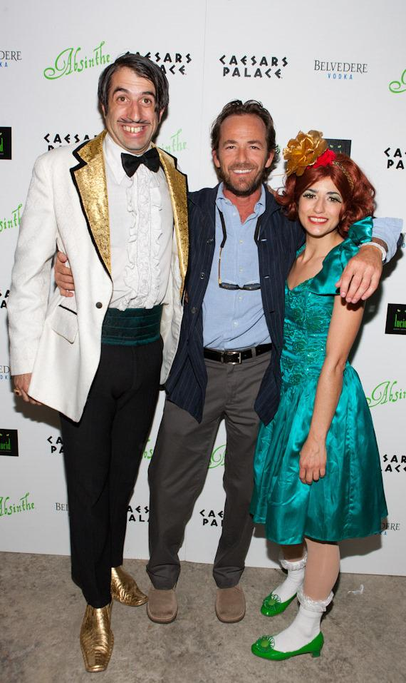 The Gazillionaire, Luke Perry and ABSINTHE cast member