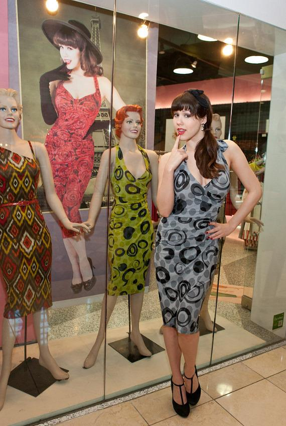Claire Sinclair at Bettie Page Clothing