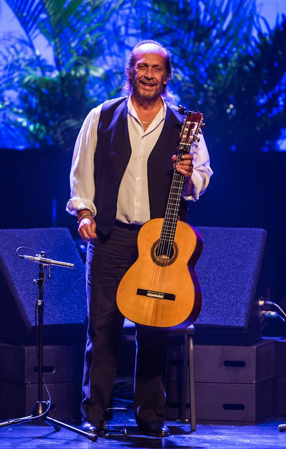 Flamenco Guitarist Paco de Lucia Performs at Reynolds Hall at The Smith Center For Performing Arts in Las Vegas