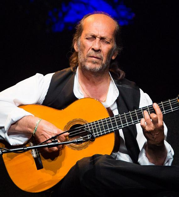 Flamenco Guitarist Paco de Lucia performs at The Smith Center For Performing Arts in Las Vegas