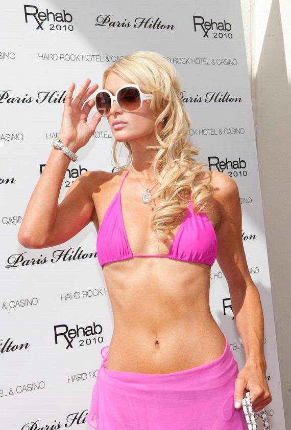 Paris Hilton hosts Rehab at Hard Rock Hotel & Casino
