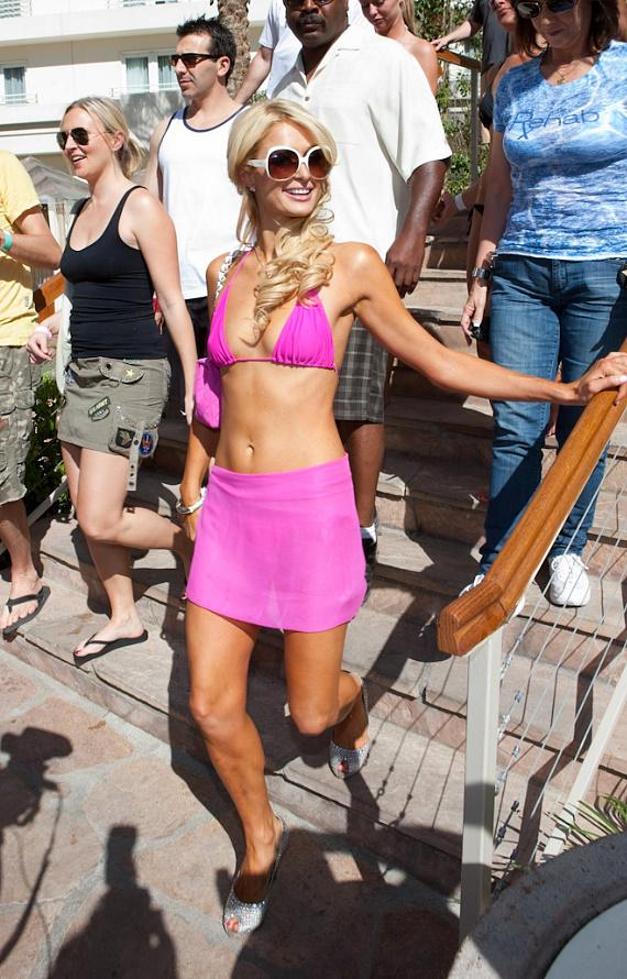 Paris Hilton at Rehab at Hard Rock Hotel & Casino