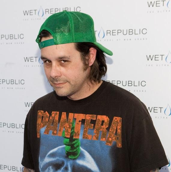 Rob Patterson of KORN at WET REPUBLIC