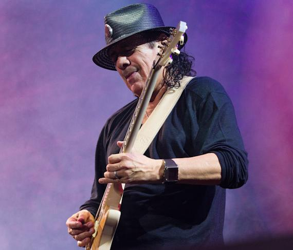 Carlos Santana performs at The Joint in Hard Rock Hotel Las Vegas