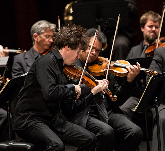The Academy of St. Martin in The Fields with Joshua Bell perform at The Smith Center For The Performing Arts