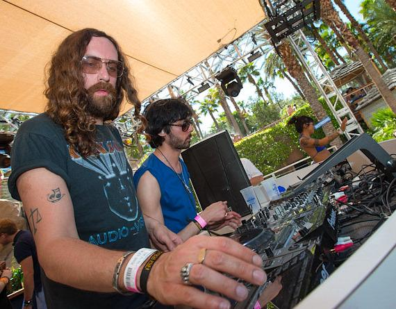 Justice performs at REHAB at Hard Rock Hotel & Casino