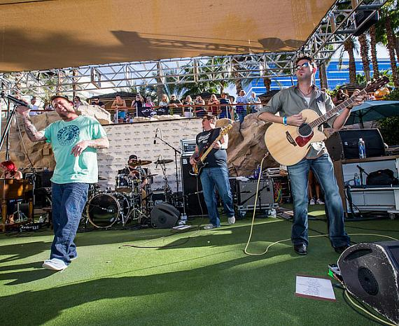 Uncle Kracker performs at Kenny Chesney Pre-Concert Pool Party Weekend at Hard Rock Hotel & Casino