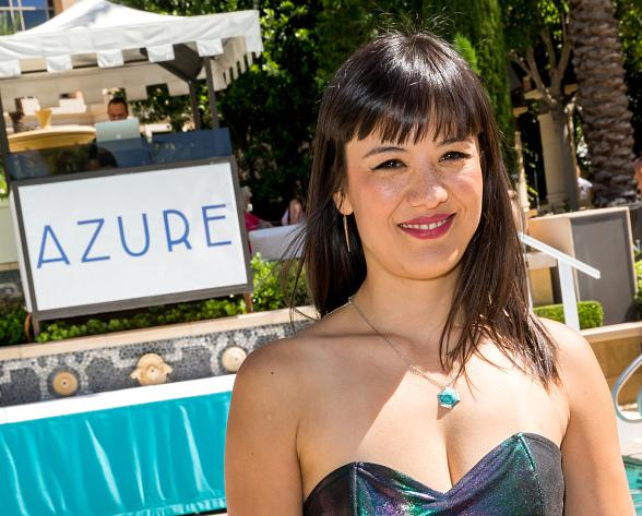 Songstress Fiora Blazes Azure Luxury Pool at The Palazzo Las Vegas into Pool Season 2015