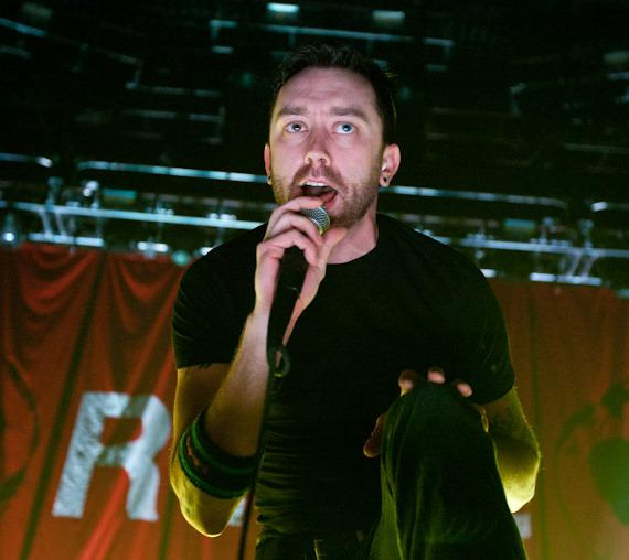 Rise Against performs at The Joint at Hard Rock Hotel in Las Vegas