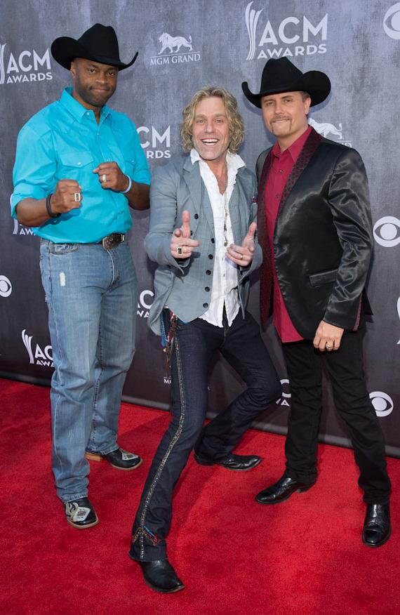 Cowboy Troy, Big Kenny and John Rich at 49th ACM Awards in Las Vegas