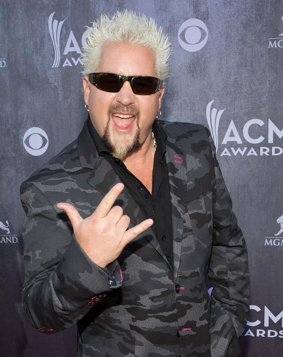 Guy Fieri at 49th ACM Awards in Las Vegas