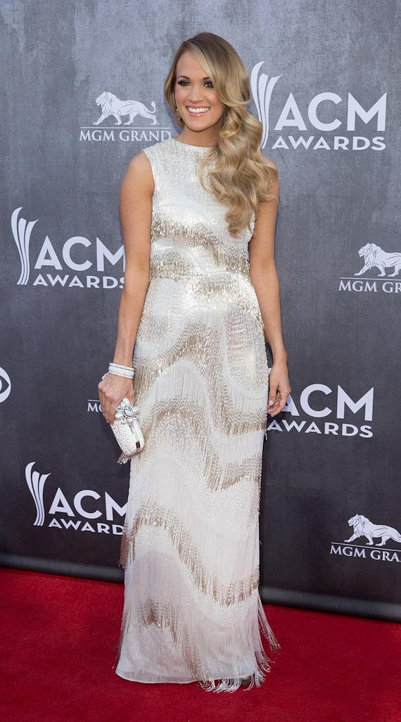Singer Carrie Underwood at 49th ACM Awards in Las Vegas