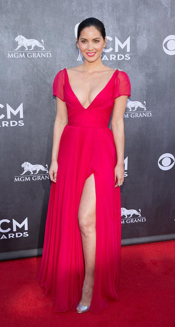 Actress Olivia Munn at 49th ACM Awards in Las Vegas